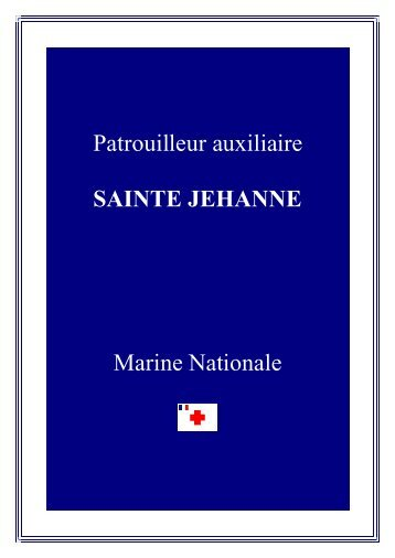 sainte jehanne - Navires de la Grande Guerre