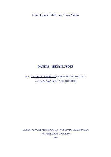 Maria Cidália Ribeiro de Abreu Matias DÂNDIS – (DES) ILUSÕES