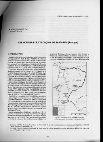 LES MORTIERS DE L'ALCÀÇOVA DE SANTARÉM (Portugal) - uniarq
