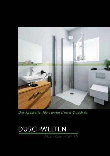 Der Spezialist für barrierefreies Duschen!