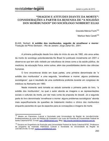"""""""IMAGEM E ATITUDES DIANTE DA MORTE ... - CCHLA/UFRN"""