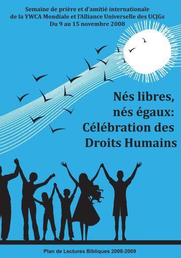 Nés libres, nés égaux: Célébration des Droits Humains - World YWCA
