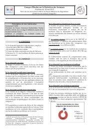 Groupe d'Etudes sur la Protection des Animaux Audition du 14 ... - Fast
