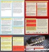 Serpents venimeux – comment réagir? karch
