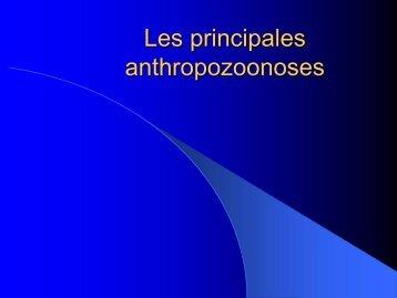 Les principales anthropozoonoses - Clos de l'Olivier