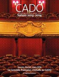 Saison 2013 - 2014 - Centre National de Création d'Orléans