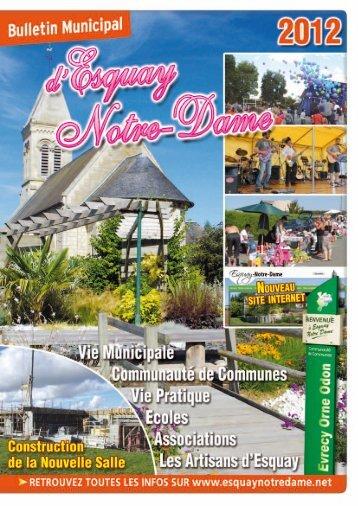 Bulletin Municipal 2012 - Esquay-Notre-Dame