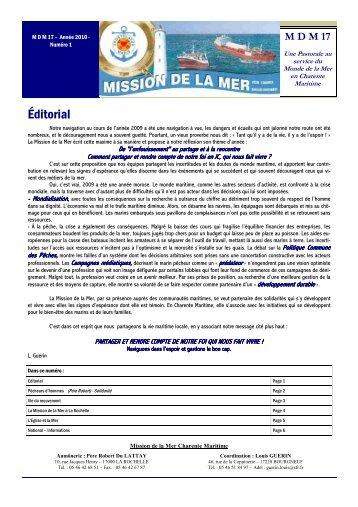 BL La Rochelle N°1 - Mission de la mer