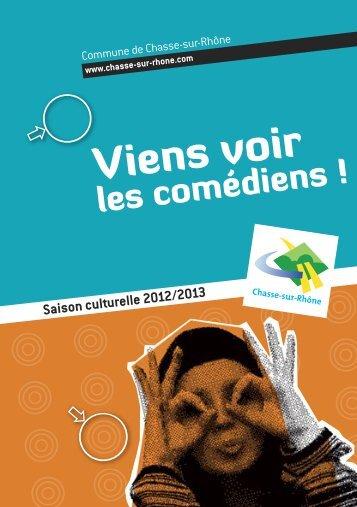 Plaquette saison culturelle 2012-2013 - Chasse-sur-Rhône