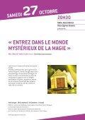 Plaquette saison culturelle 2012-2013 - Chasse-sur-Rhône - Page 5