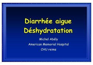 Diarrhee aigue et de..