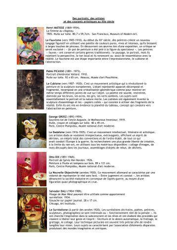 Exposition triptyque et p for Courant artistique