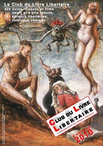 Club du Livre Libertaire - Catalogue 2010