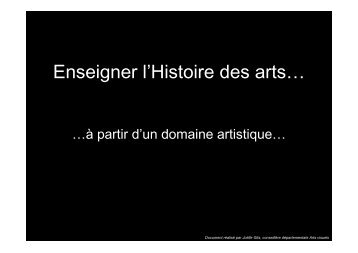 Enseigner l'histoire des arts de la table