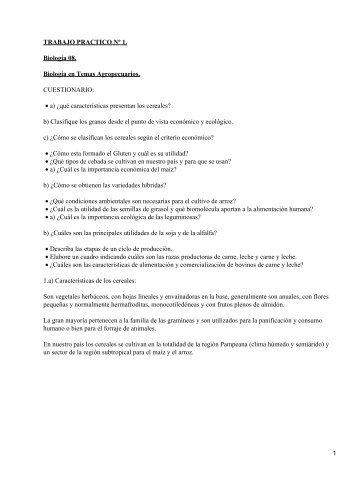 TRABAJO PRACTICO Nº 1. Biología 08. Biología en Temas ...