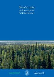 Metsä-Lapin - forestinfo.fi