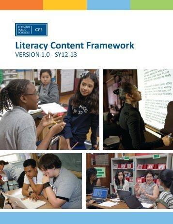 Literacy Content Framework - Chicago Public Schools