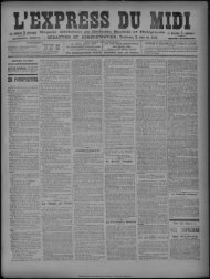 16 septembre 1894 - Bibliothèque de Toulouse