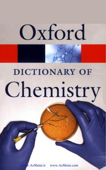 Dictionary of Chemistry [6th Ed.]