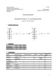 G09 V24 Nachweise von Kohlenhydraten - ChidS