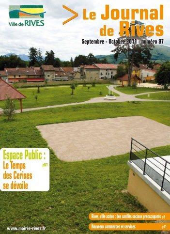 Espace Public: - Ville de Rives