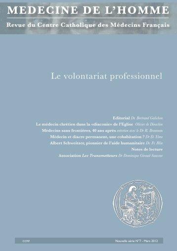 Médecine de l'Homme - Fédération Internationale des Associations ...