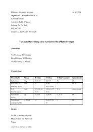 Versuch: Darstellung eines Azofarbstoffes (Methylorange) - ChidS
