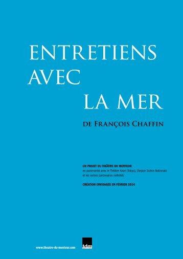 de François Chaffin - Théâtre du Menteur