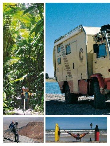 "Reportage im ""4 Seasons"" Magazin - Chile Kajak"