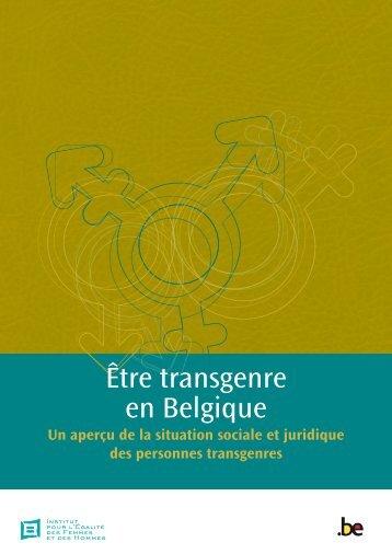 Être transgenre en Belgique (PDF, 1.84 MB) - igvm - Belgium