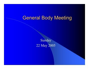 General Body Meeting - Chinmaya Mission Dallas/Fort worth