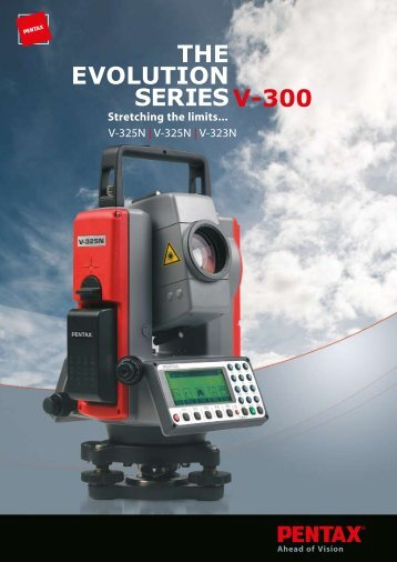 THE EVOLUTION SERIES V-300 - Sggsystems.net