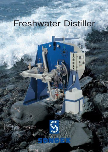 SONDEX Freshwater Distiller - Heat Exchangers