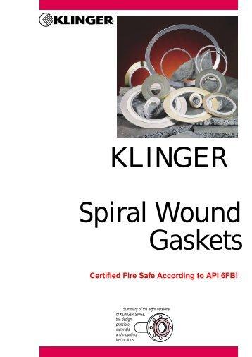 KLINGER Spiral Wound Gaskets