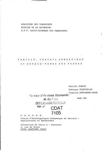 Famille, travail domestique.pdf - Base Institutionnelle de Recherche ...