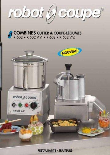 COMBINÉS CUTTER & COUPE-LÉGUMES - MCR Equipements