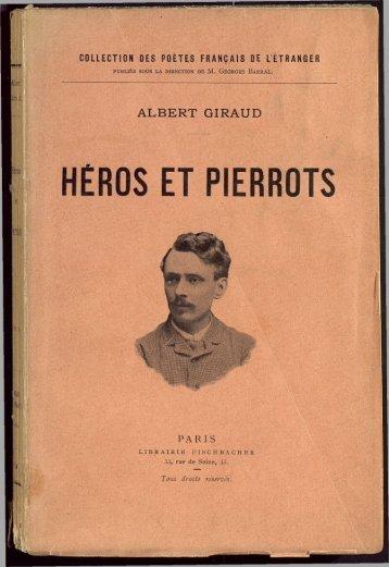 HÉROS ET PIERROTS - Archives et musée de la littérature