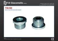 Technical Data - F.lli Giacomello