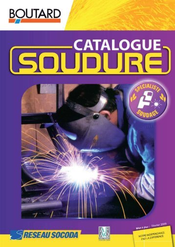 catalogue soudure.indd - Boutard