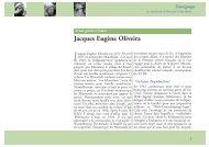 Jacques Eugène Oliveira - Malgré-Nous