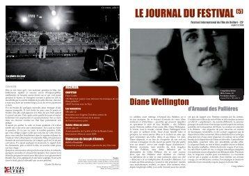 Télécharger Le Journal du festival (5) - Entrevues