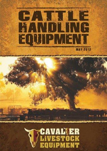 Cattle Handling Catalogue - Cavalier Livestock Equipment