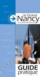 Une ambition internationale - Nancy Tourisme