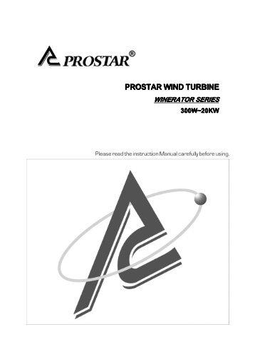 PROSTAR WIND TURBINE