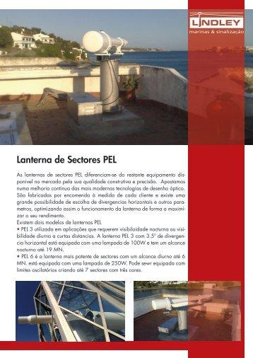 Lanterna de Sectores PEL - Lindley