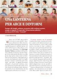 UNA LANTERNA PER ARCE E DINTORNI - Volontariato Lazio