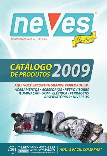 catálogo 2009 - Neves Distribuidora