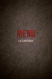 The idea was born in 2005 - La Lanterna