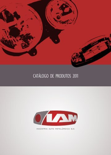 CATÁLOGO DE PRODUTOS 2011 - Iam