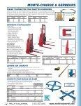 • Portes à lanières souples • Chariots à plateforme • Barrières de ... - Page 5